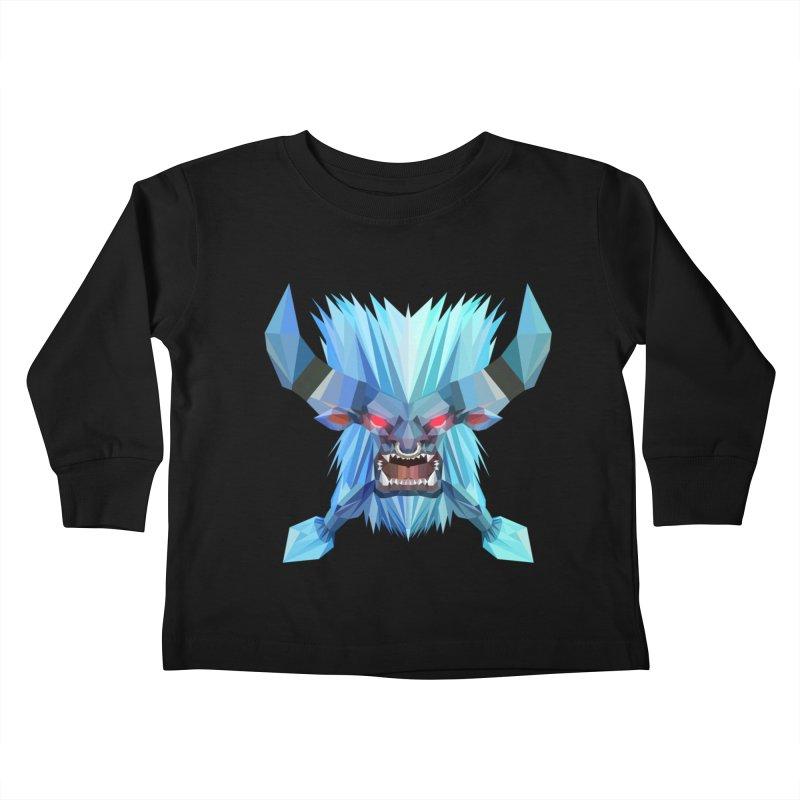 Low Poly Art - Spirit Breaker Kids Toddler Longsleeve T-Shirt by lowpolyart's Artist Shop