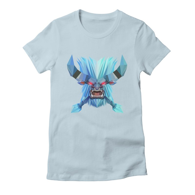 Low Poly Art - Spirit Breaker Women's Fitted T-Shirt by lowpolyart's Artist Shop