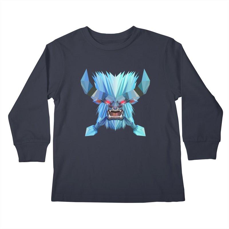 Low Poly Art - Spirit Breaker Kids Longsleeve T-Shirt by lowpolyart's Artist Shop
