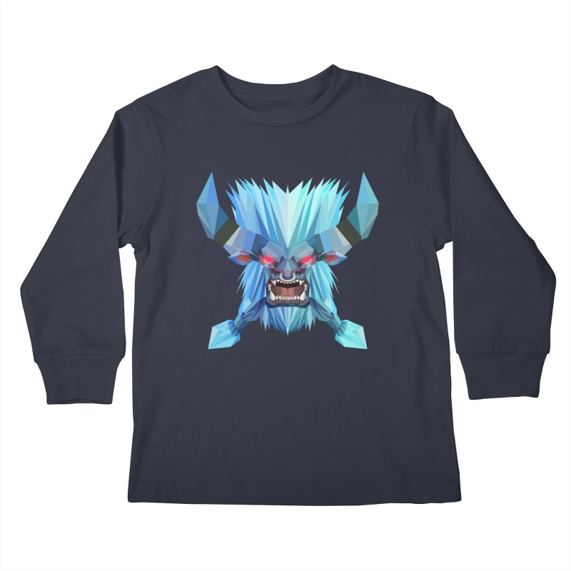 Low Poly Art - Spirit Breaker Kids Longsleeve T-Shirt by lowpolyart's Artist Shop