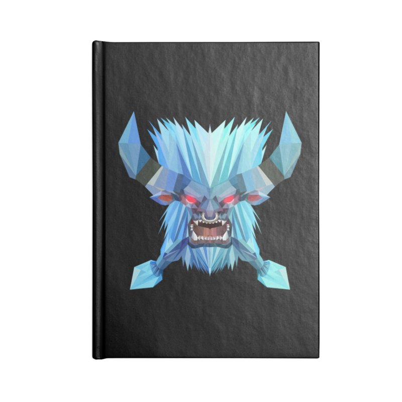 Low Poly Art - Spirit Breaker Accessories Notebook by lowpolyart's Artist Shop