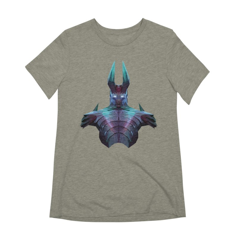 Low Poly Art - Tblade Women's Extra Soft T-Shirt by lowpolyart's Artist Shop