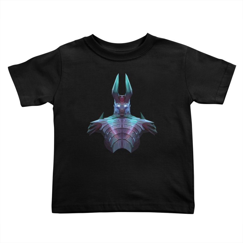 Low Poly Art - Tblade Kids Toddler T-Shirt by lowpolyart's Artist Shop