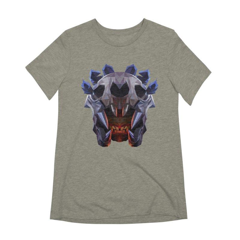 Low Poly Art - Bloodseeker Women's Extra Soft T-Shirt by lowpolyart's Artist Shop