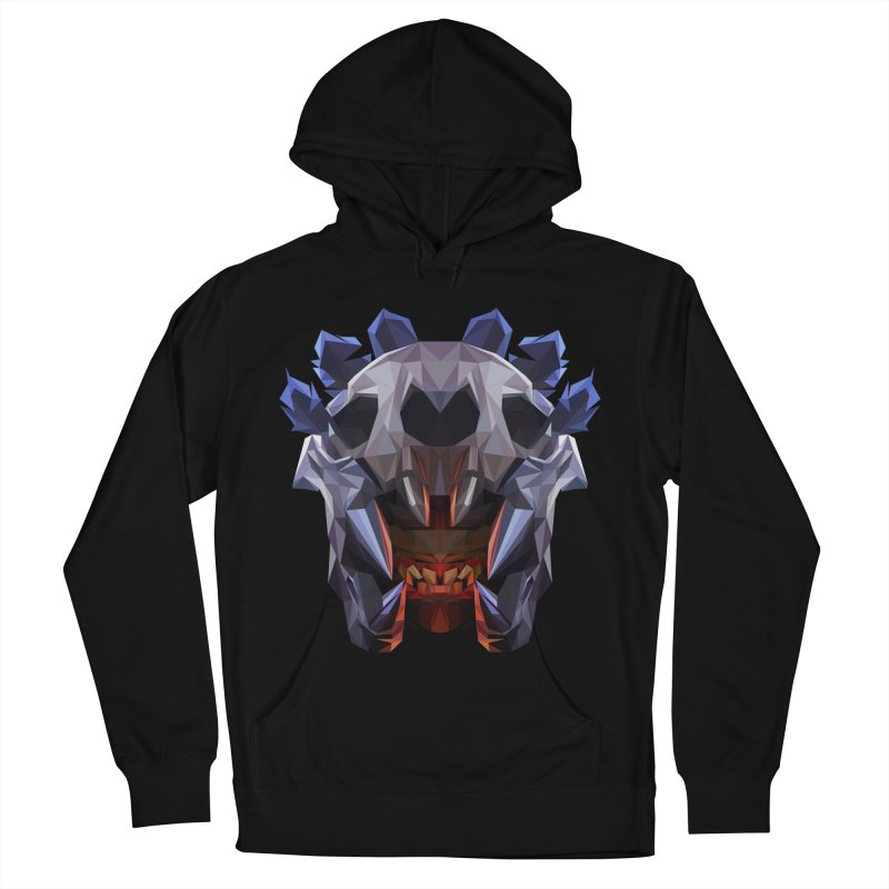 Low Poly Art - Bloodseeker Men's French Terry Pullover Hoody by lowpolyart's Artist Shop