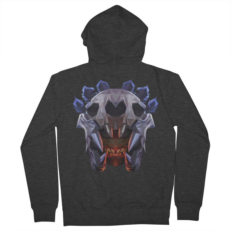 Low Poly Art - Bloodseeker Women's French Terry Zip-Up Hoody by lowpolyart's Artist Shop