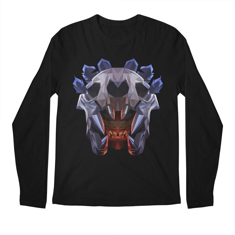 Low Poly Art - Bloodseeker Men's Regular Longsleeve T-Shirt by lowpolyart's Artist Shop