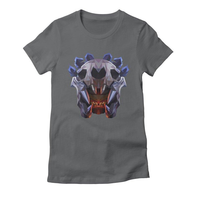 Low Poly Art - Bloodseeker Women's Fitted T-Shirt by lowpolyart's Artist Shop