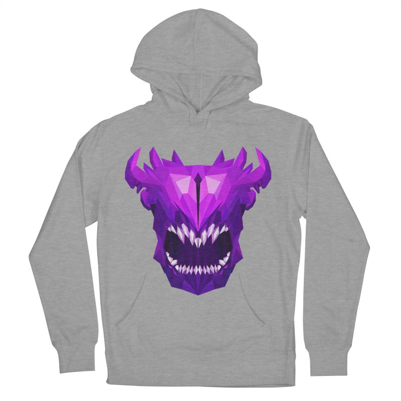 Low Poly Art - Bane Elemental Men's French Terry Pullover Hoody by lowpolyart's Artist Shop