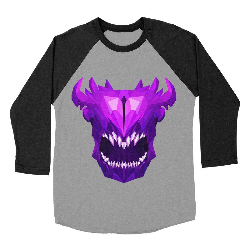 Low Poly Art - Bane Elemental Women's Baseball Triblend Longsleeve T-Shirt by lowpolyart's Artist Shop
