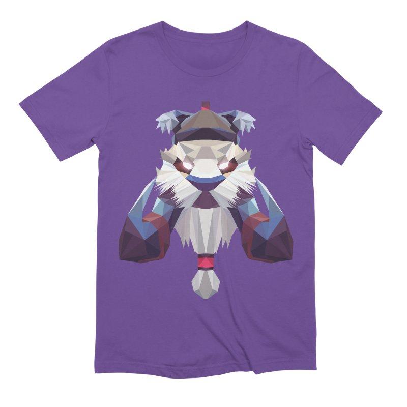 Low Poly Art - Tuskar Men's Extra Soft T-Shirt by lowpolyart's Artist Shop
