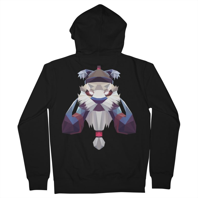 Low Poly Art - Tuskar Women's French Terry Zip-Up Hoody by lowpolyart's Artist Shop