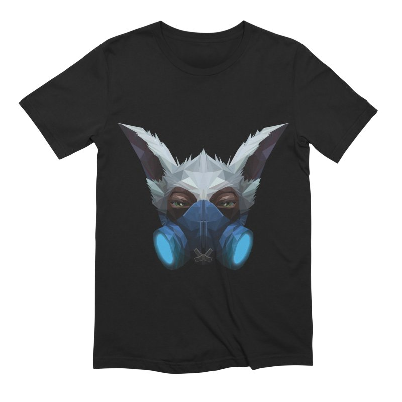 Low Poly Art - Meepo in Men's Extra Soft T-Shirt Black by lowpolyart's Artist Shop