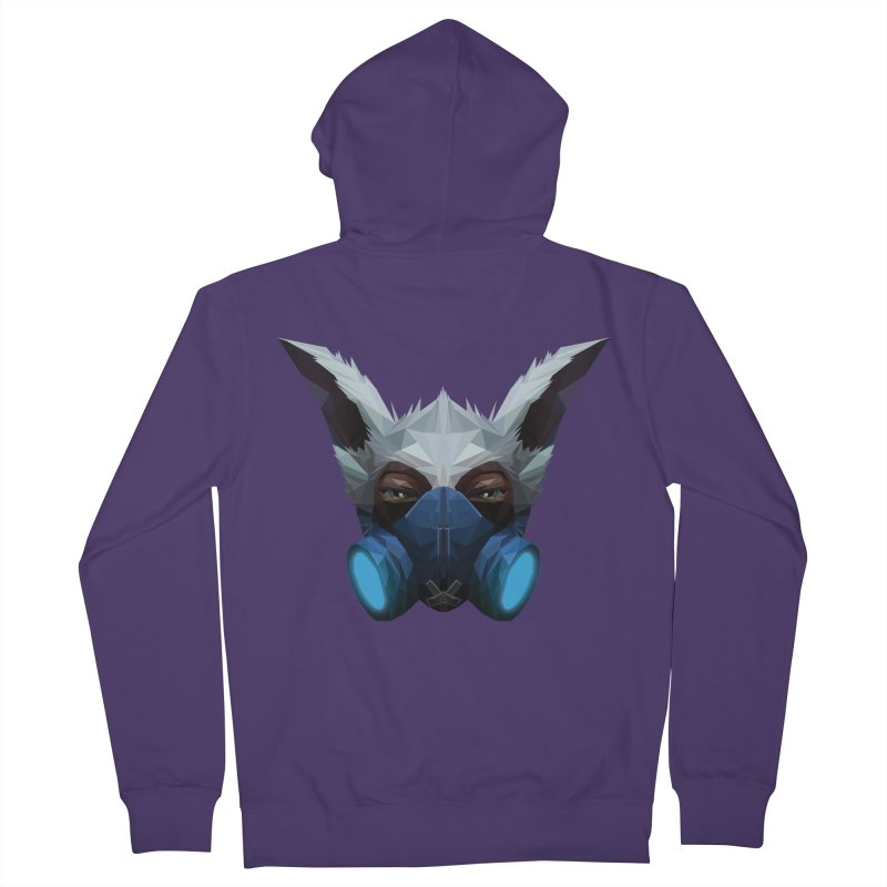Low Poly Art - Meepo Women's French Terry Zip-Up Hoody by lowpolyart's Artist Shop