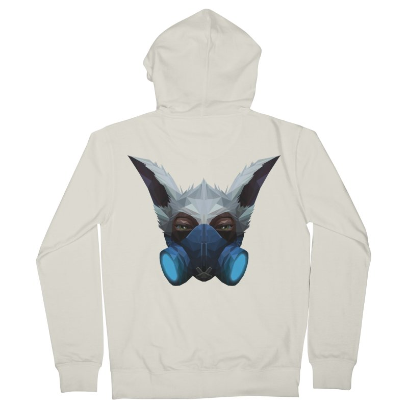 Low Poly Art - Meepo Men's French Terry Zip-Up Hoody by lowpolyart's Artist Shop