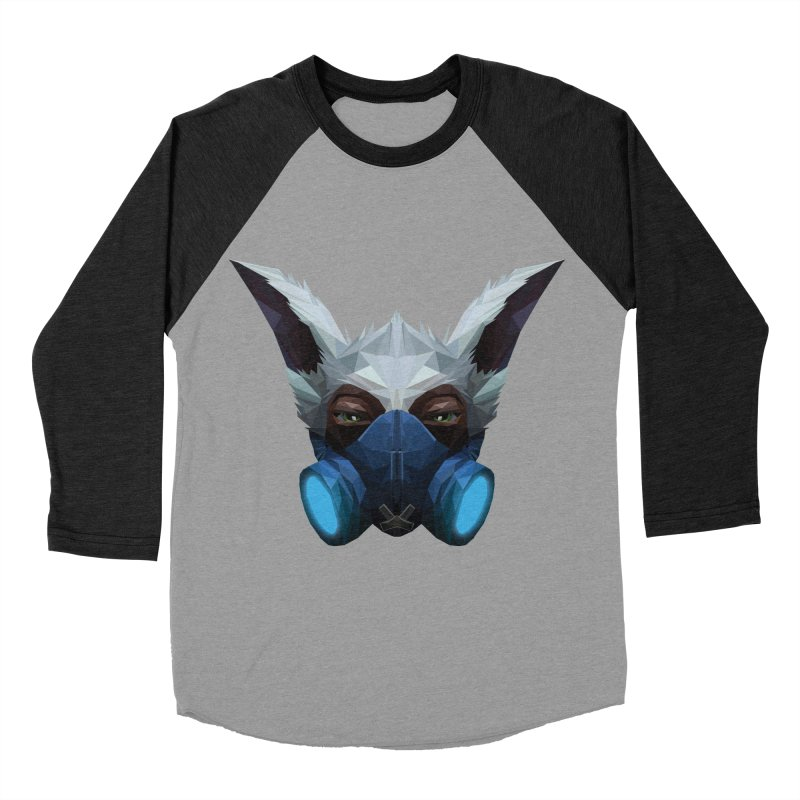 Low Poly Art - Meepo Women's Baseball Triblend Longsleeve T-Shirt by lowpolyart's Artist Shop