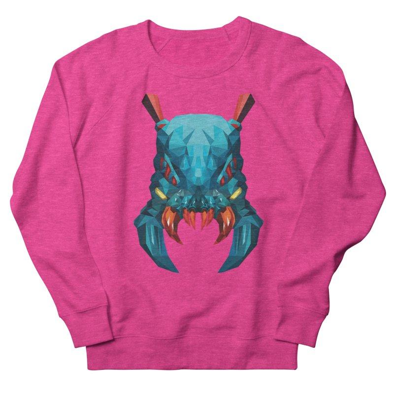 Low Poly Art -Weaver Women's French Terry Sweatshirt by lowpolyart's Artist Shop