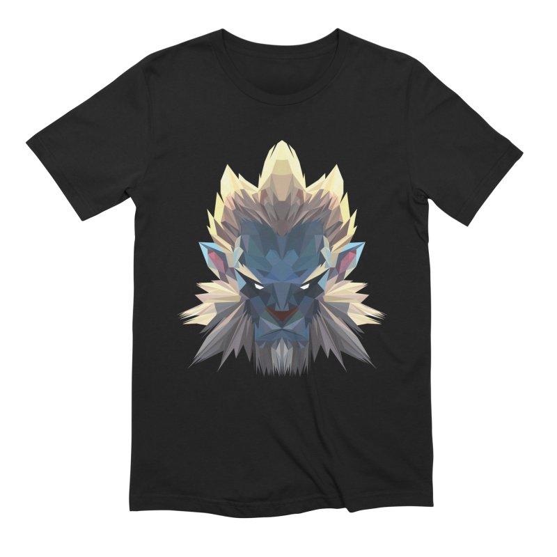 Low Poly Art - Phantom Lancer in Men's Extra Soft T-Shirt Black by lowpolyart's Artist Shop