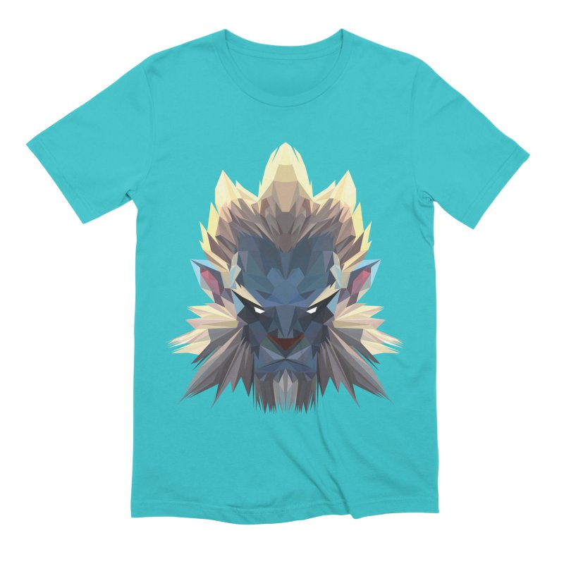 Low Poly Art - Phantom Lancer Men's Extra Soft T-Shirt by lowpolyart's Artist Shop