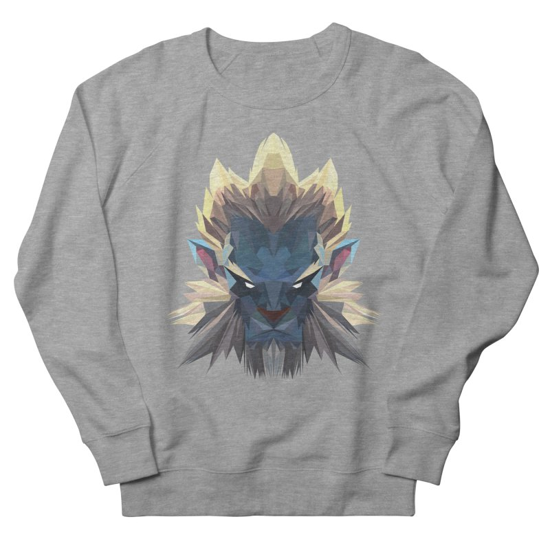 Low Poly Art - Phantom Lancer Women's French Terry Sweatshirt by lowpolyart's Artist Shop
