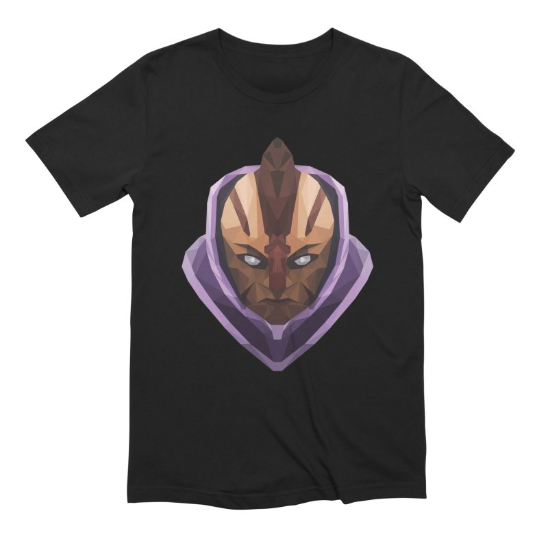 Low Poly Art - Antimage in Men's Extra Soft T-Shirt Black by lowpolyart's Artist Shop