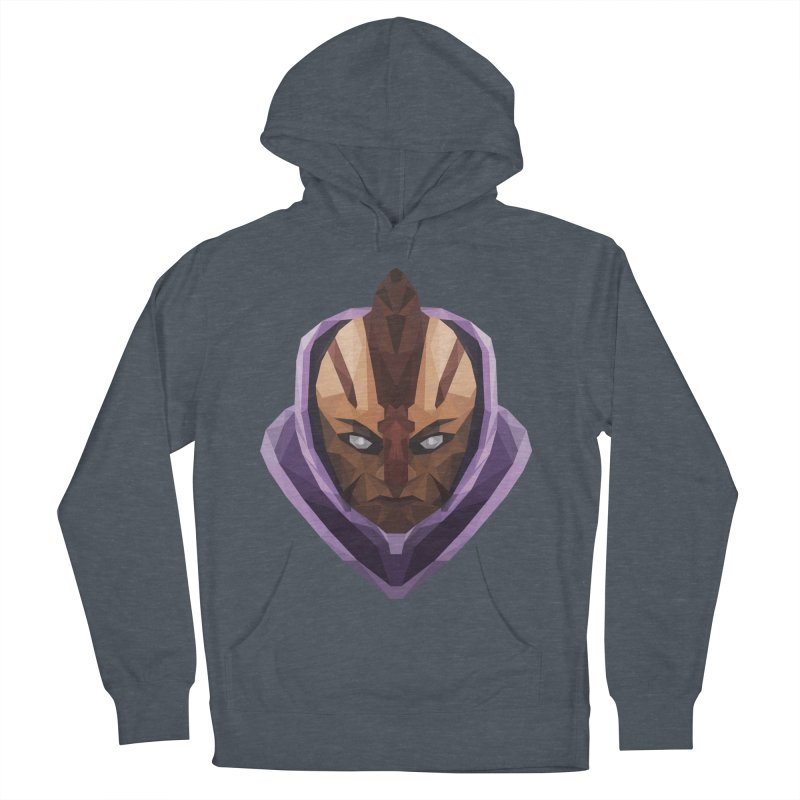 Low Poly Art - Antimage Women's French Terry Pullover Hoody by lowpolyart's Artist Shop