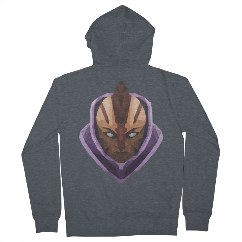 Low Poly Art - Antimage Men's French Terry Zip-Up Hoody by lowpolyart's Artist Shop
