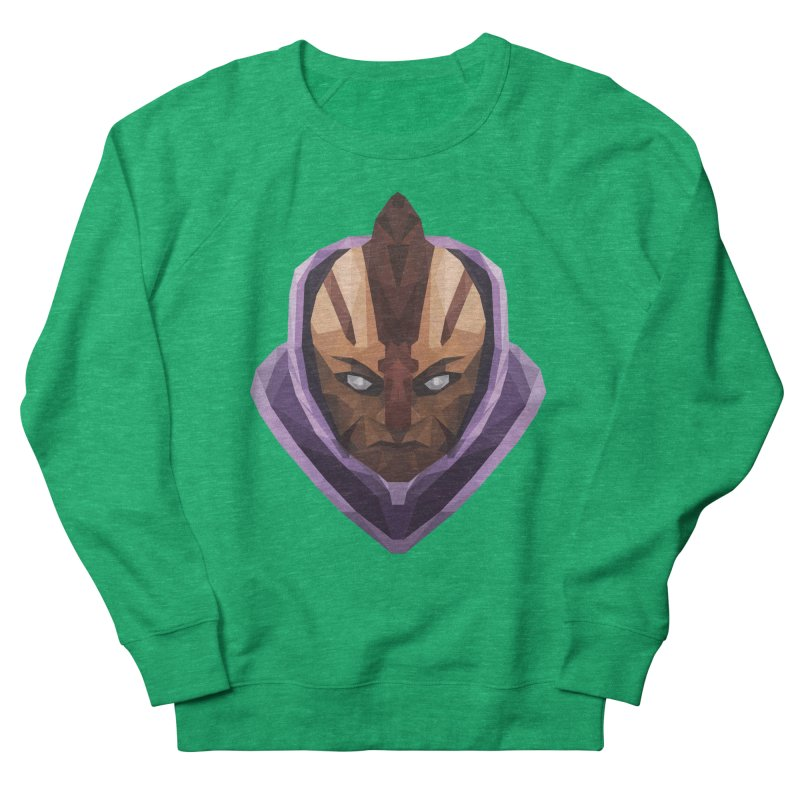 Low Poly Art - Antimage Women's French Terry Sweatshirt by lowpolyart's Artist Shop
