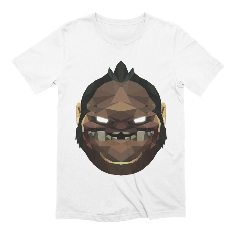 Low Poly Art - Pudge Men's Extra Soft T-Shirt by lowpolyart's Artist Shop