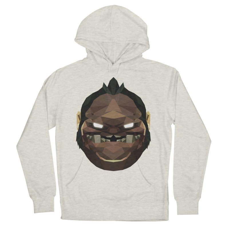 Low Poly Art - Pudge Men's French Terry Pullover Hoody by lowpolyart's Artist Shop