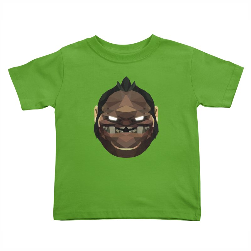 Low Poly Art - Pudge Kids Toddler T-Shirt by lowpolyart's Artist Shop