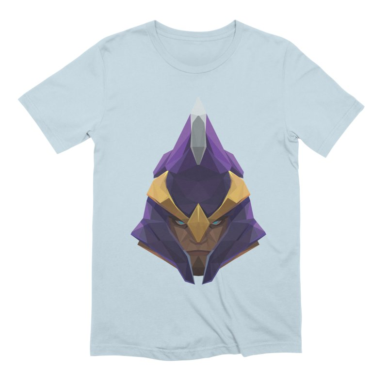 Low Poly Art - Silencer Men's Extra Soft T-Shirt by lowpolyart's Artist Shop