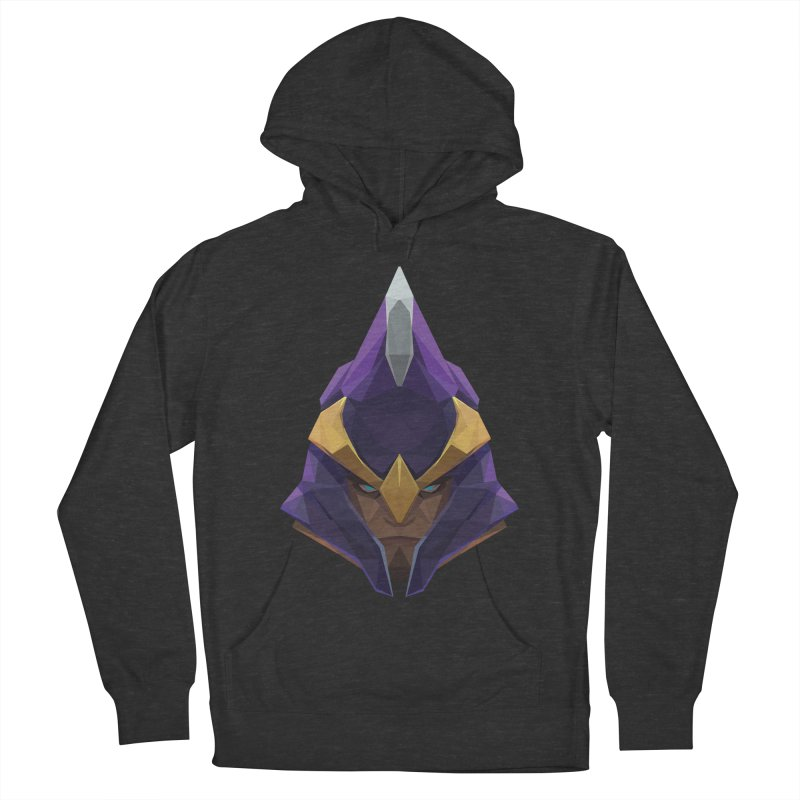 Low Poly Art - Silencer Men's French Terry Pullover Hoody by lowpolyart's Artist Shop