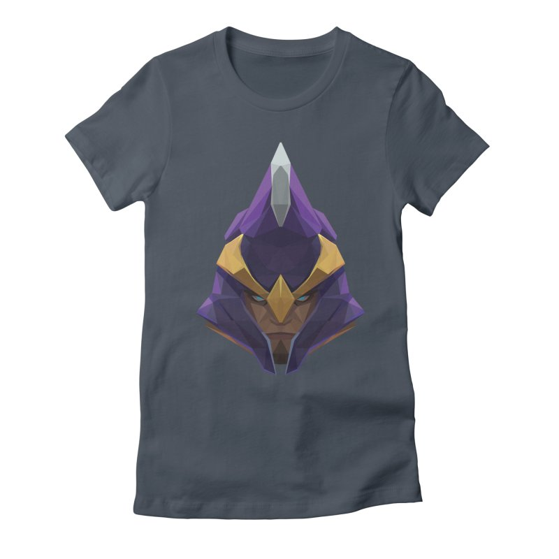 Low Poly Art - Silencer Women's Fitted T-Shirt by lowpolyart's Artist Shop