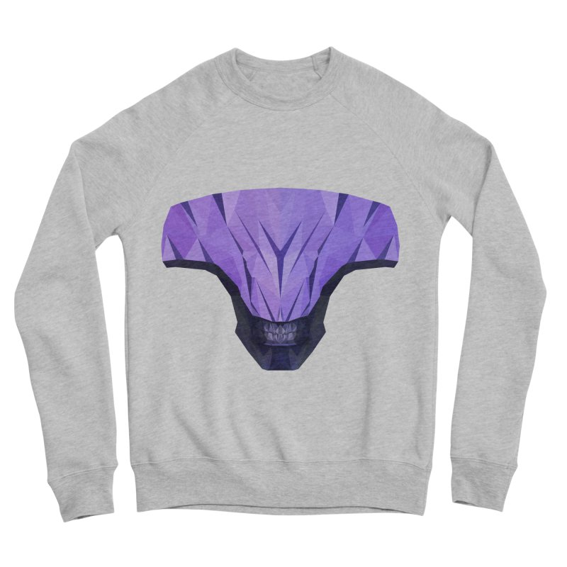 Low Poly Art - Faceless Void Men's Sponge Fleece Sweatshirt by lowpolyart's Artist Shop