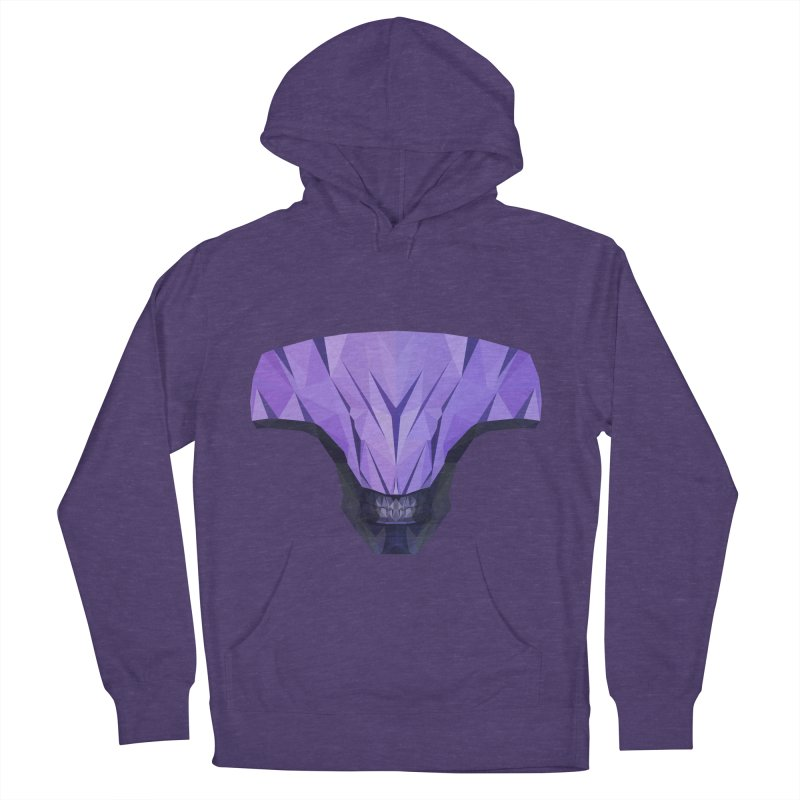 Low Poly Art - Faceless Void Women's French Terry Pullover Hoody by lowpolyart's Artist Shop