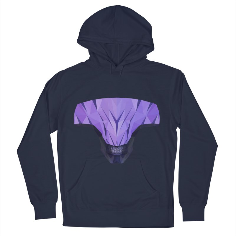 Low Poly Art - Faceless Void Men's French Terry Pullover Hoody by lowpolyart's Artist Shop