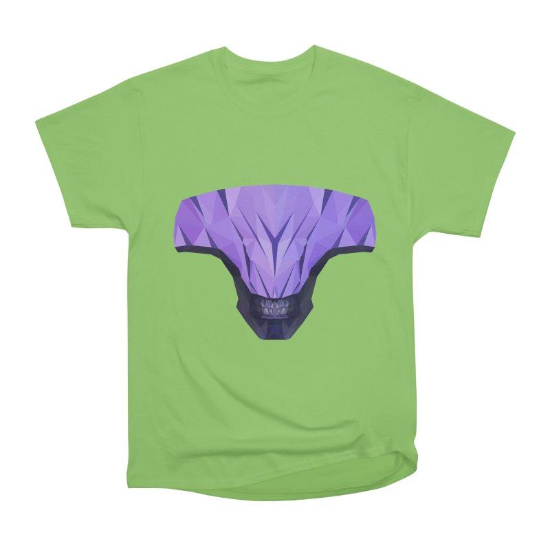 Low Poly Art - Faceless Void Men's Heavyweight T-Shirt by lowpolyart's Artist Shop