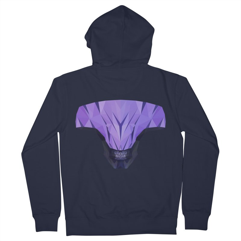 Low Poly Art - Faceless Void Women's French Terry Zip-Up Hoody by lowpolyart's Artist Shop