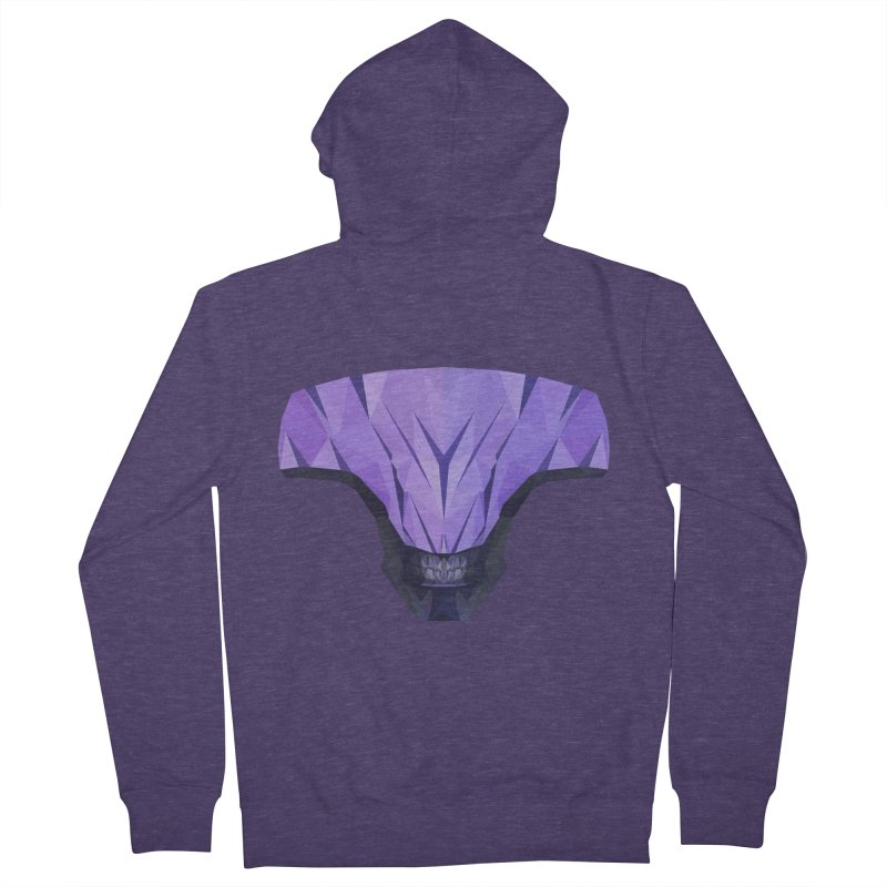 Low Poly Art - Faceless Void Men's French Terry Zip-Up Hoody by lowpolyart's Artist Shop