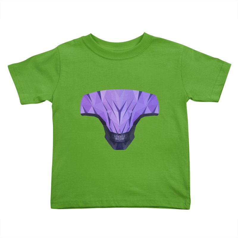 Low Poly Art - Faceless Void Kids Toddler T-Shirt by lowpolyart's Artist Shop