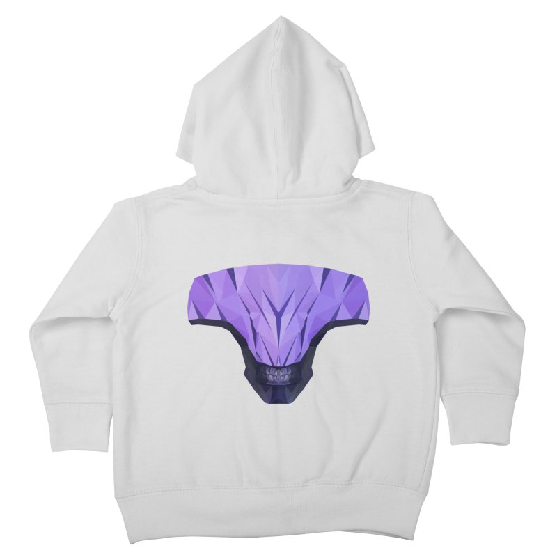 Low Poly Art - Faceless Void Kids Toddler Zip-Up Hoody by lowpolyart's Artist Shop