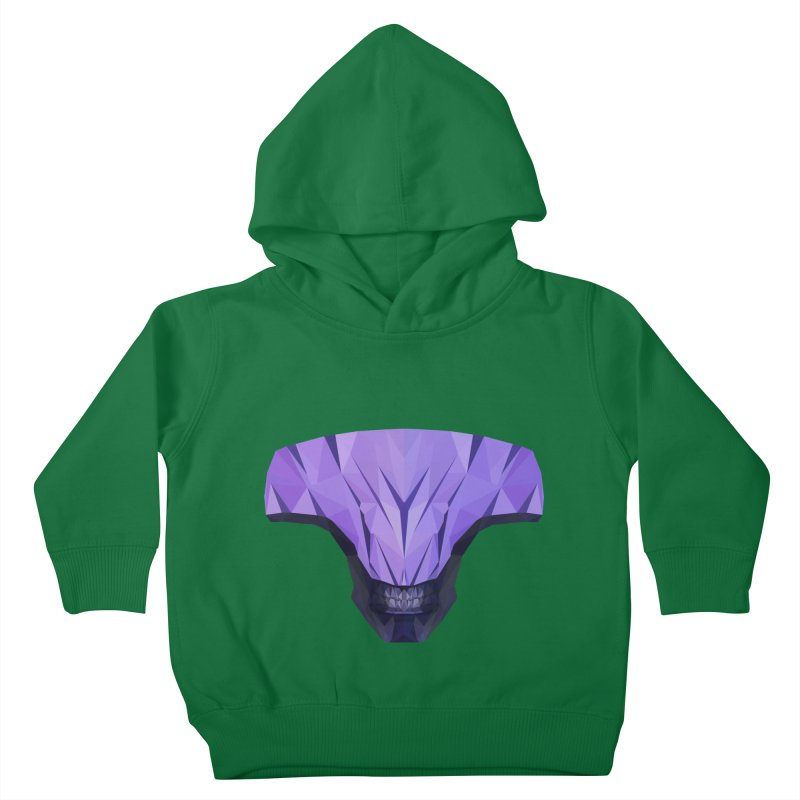Low Poly Art - Faceless Void Kids Toddler Pullover Hoody by lowpolyart's Artist Shop