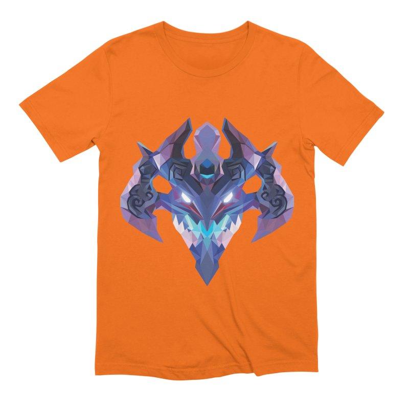 Low Poly Art - Visage Men's Extra Soft T-Shirt by lowpolyart's Artist Shop