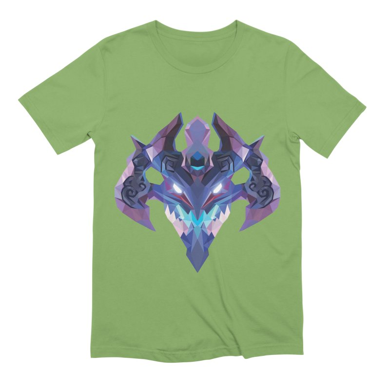 Low Poly Art - Visage Men's Extra Soft T-Shirt by lowpolyart's Artist Shop