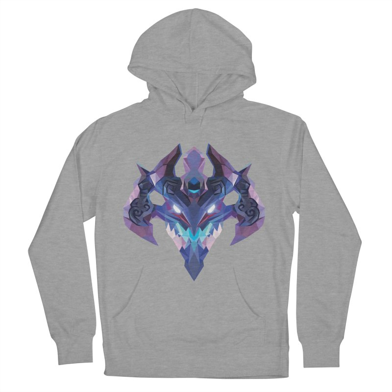 Low Poly Art - Visage Women's Pullover Hoody by lowpolyart's Artist Shop