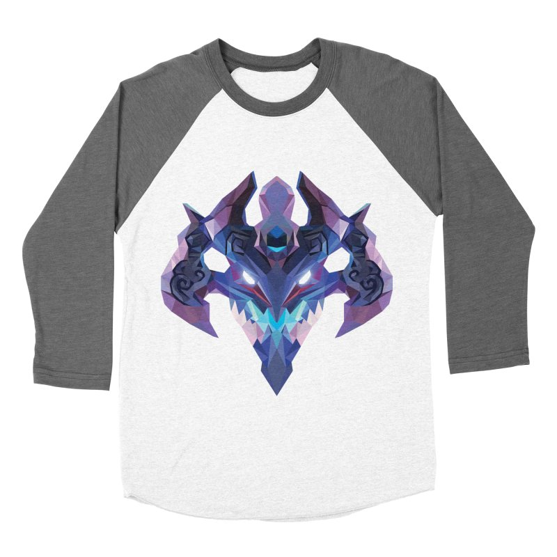 Low Poly Art - Visage Women's Longsleeve T-Shirt by lowpolyart's Artist Shop