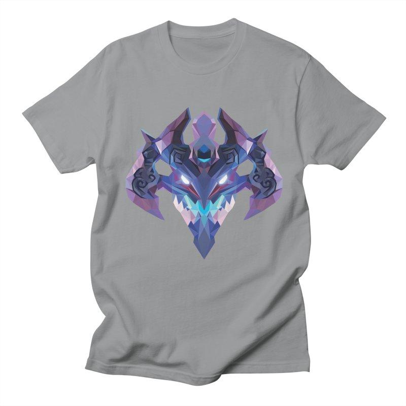 Low Poly Art - Visage Men's Regular T-Shirt by lowpolyart's Artist Shop