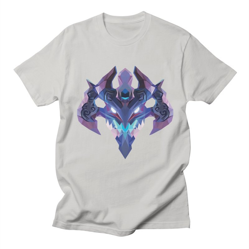 Low Poly Art - Visage Men's Regular T-Shirt by lowpolyart's Artist Shop