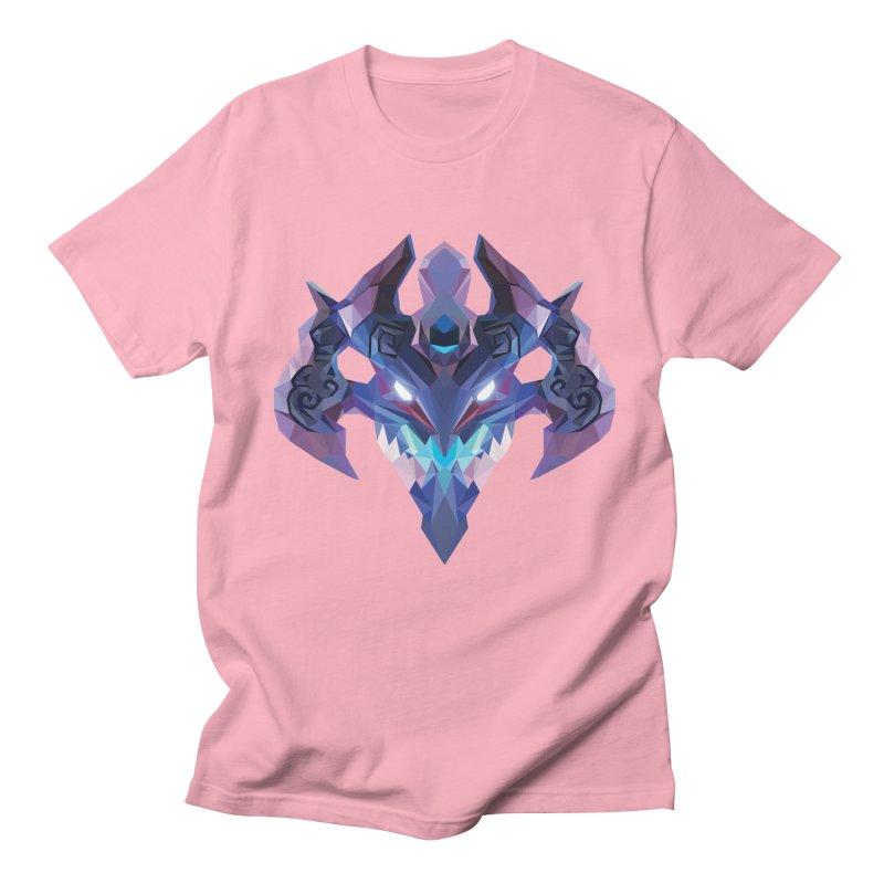 Low Poly Art - Visage Women's Regular Unisex T-Shirt by lowpolyart's Artist Shop